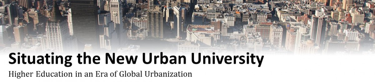 Situating the New Urban University